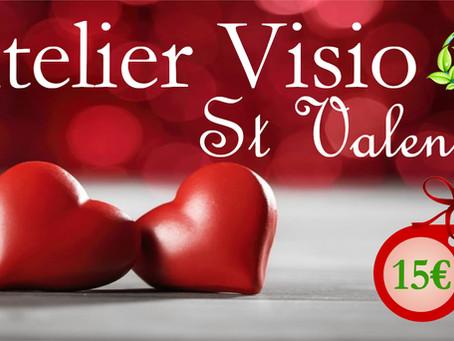 Atelier Visio St Valentin 💕 - Parfum d'Ambiance à Diffuser et Huile de Massage