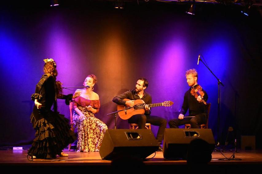 Yolanda Almodovar Flamenco Band with Ire