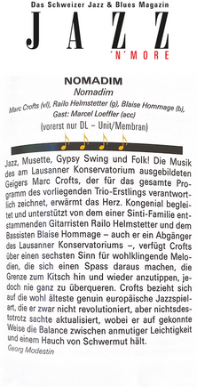 Jazz'n'more - Georg Modestin