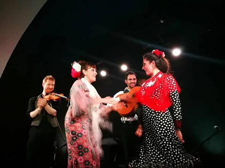 Yolanda Almodovar Quartet in Montreux