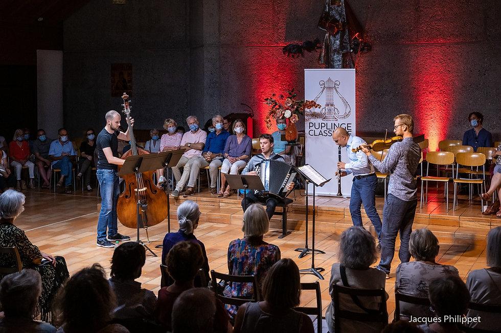 Marc Crofts Klezmer Ensemble - in action!