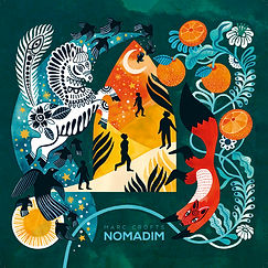 NOMADIM Album cover - Sophie Bass