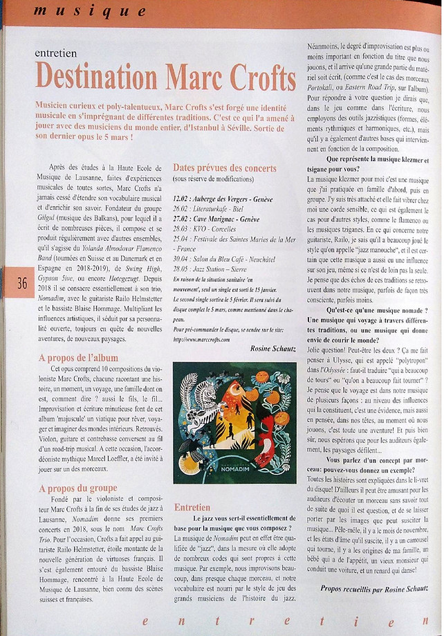 Scènes magazine - Rosine Schautz