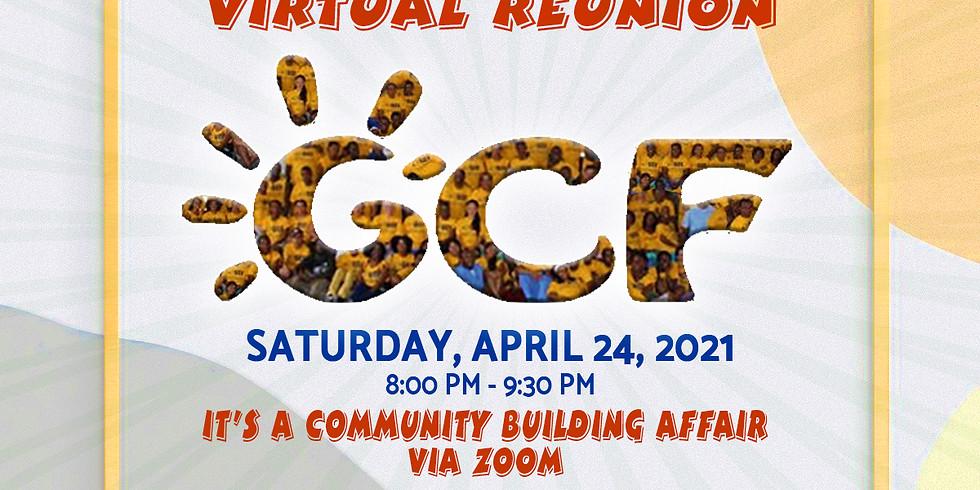 GCF Virtual Reunion - A Community Building Affair