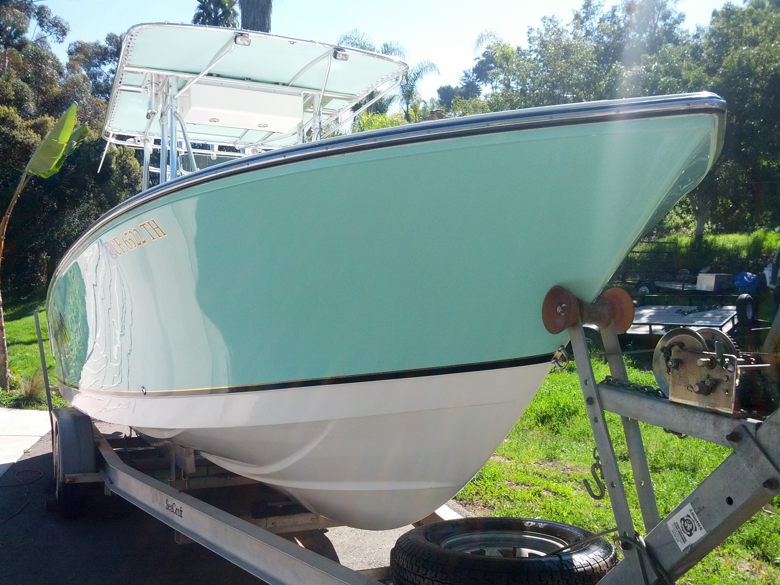 High Gloss Boat Detailing