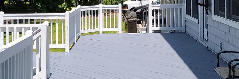 Hudson Paint Contracting • Deck Staining