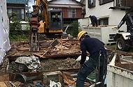 解体工事町豊の現場スタッフ
