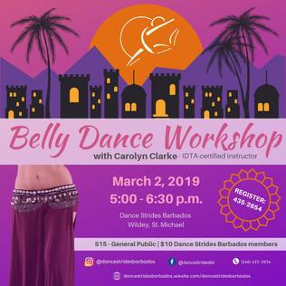 Belly Dance Workshop - March 2