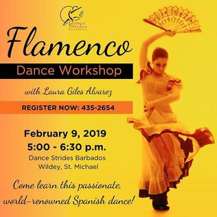 Flamenco Workshop - February 9
