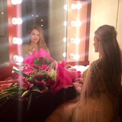 Backstage at City Recital Hall