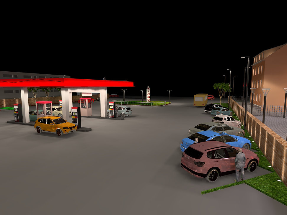 Petrol and Service Station Lighting 5 | Lux Cal