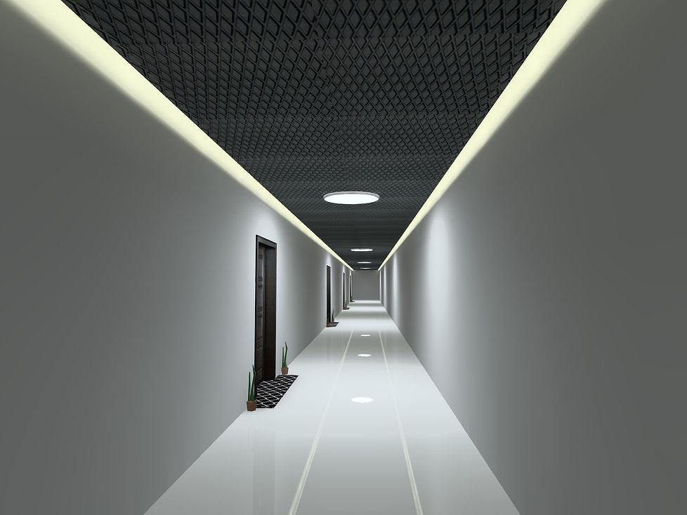 Linking Corridor Lighting | Lux Cal