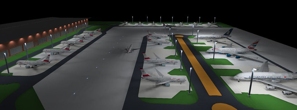 Lighting for Airports and Seaports 1 | Lux Cal