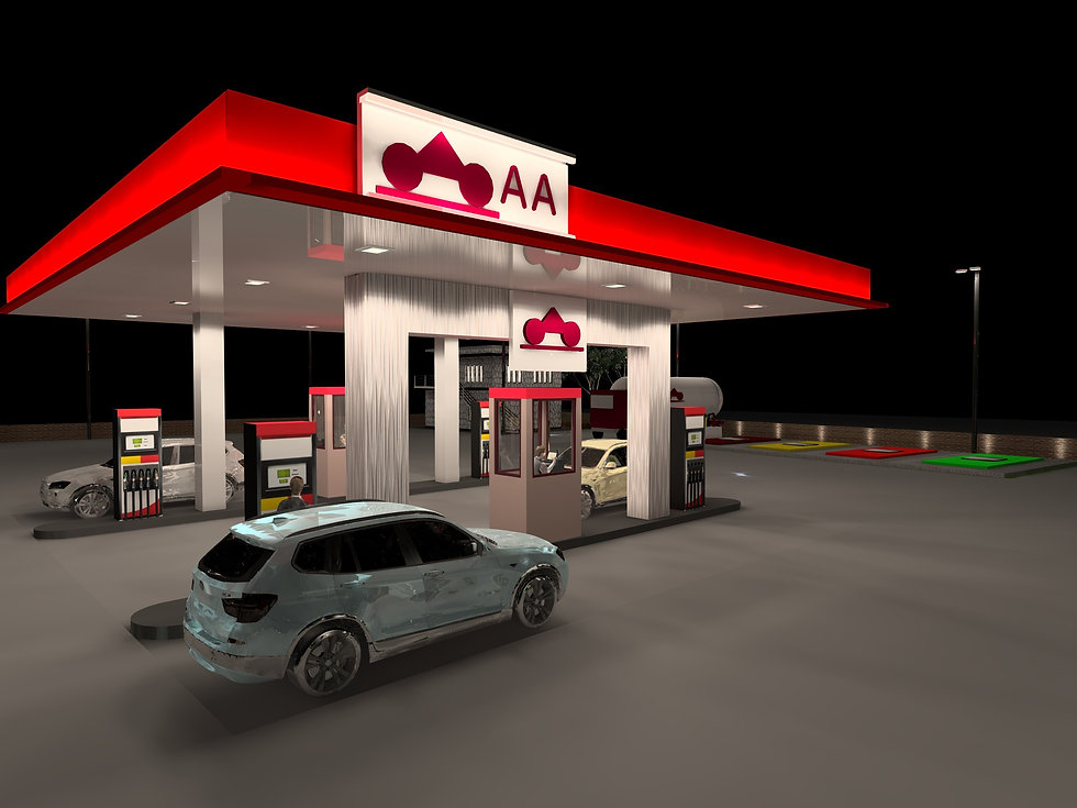 Petrol and Service Station Lighting 1 | Lux Cal