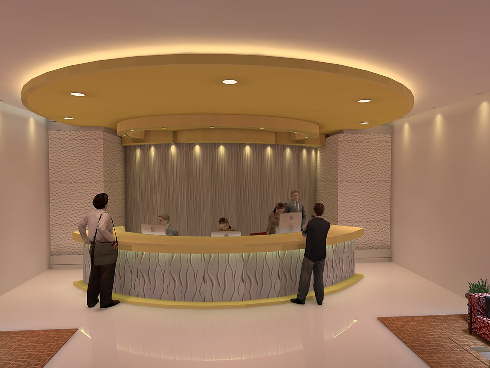 Reception Lighting | Lux Cal