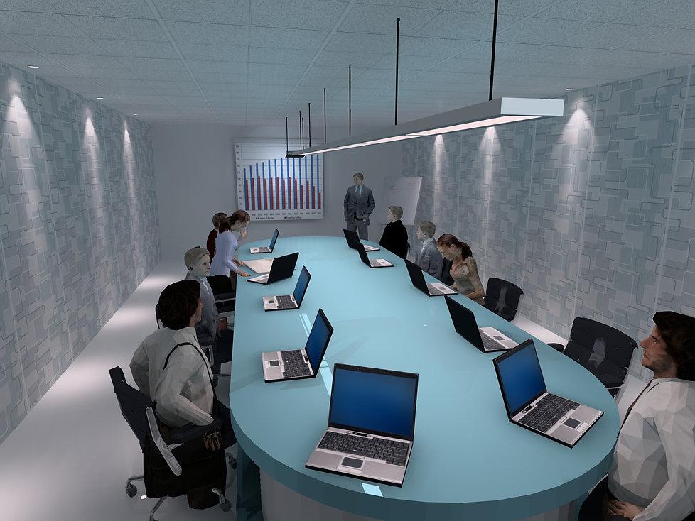 Meeting Room Lighting | Lux Cal