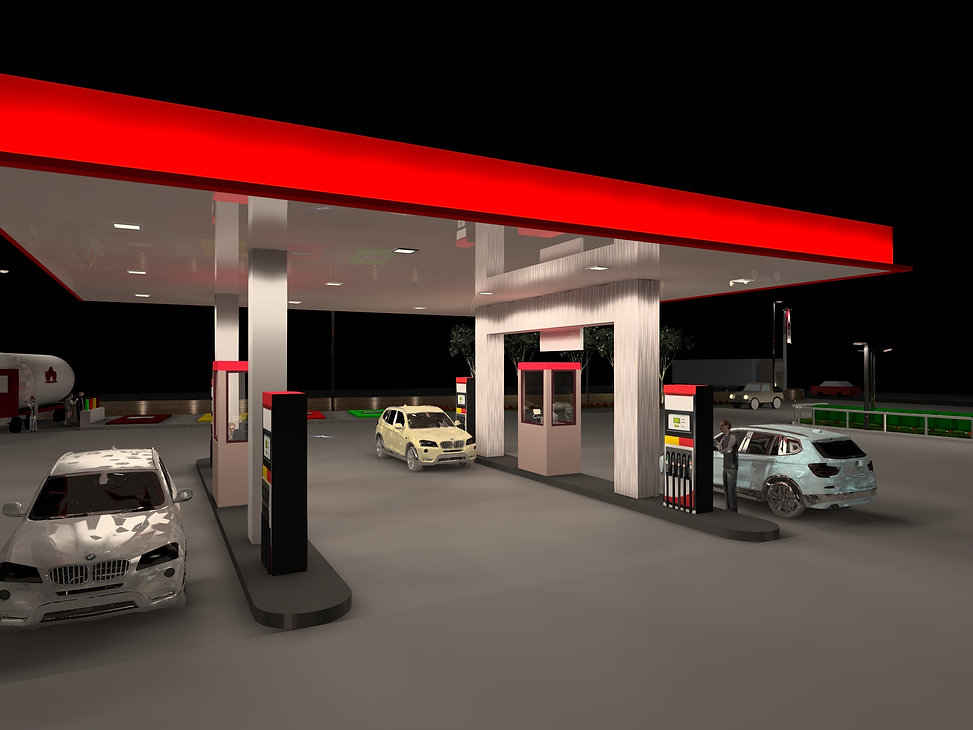 Petrol and Service Station Lighting 2 | Lux Cal