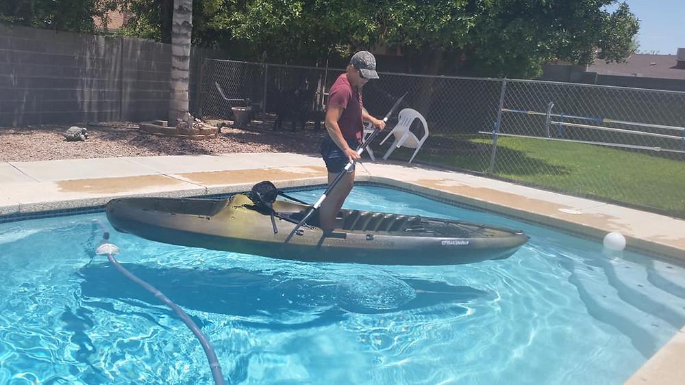 buying testing new kayak how to pick kayak kayak for big boy xl kayak plus size arizona fishing guide