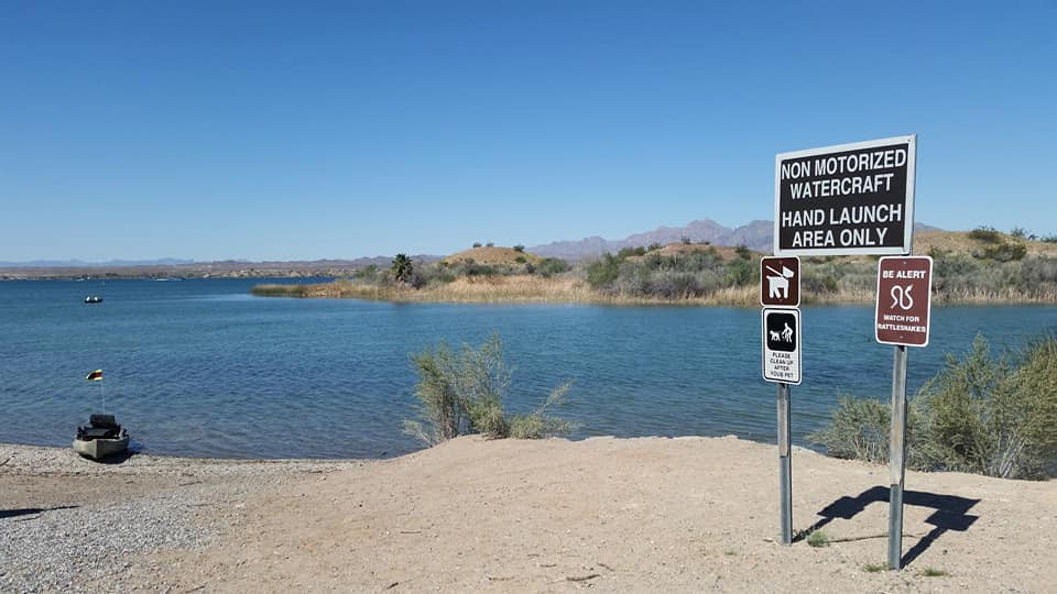havasu national wildlife refuge mesquite bay nonmotorized area  kayak access free launch lake havasu arizona  christina boggs arizona kayak fishing guide kayaking 4 information