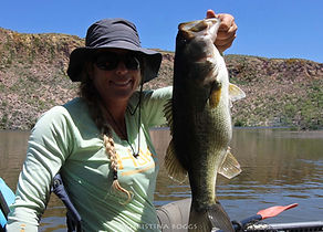 large mouth bass kayak fishing arizona tour guide