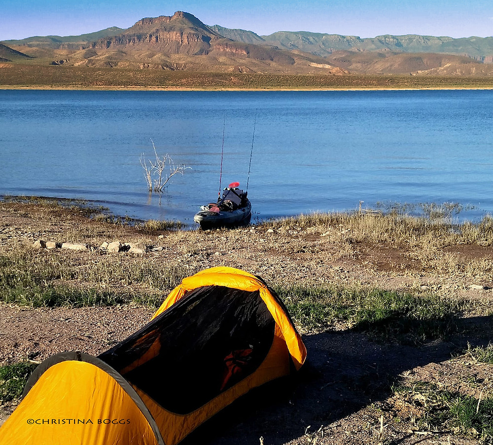 kayaking arizona camping off kayak fishing adventure