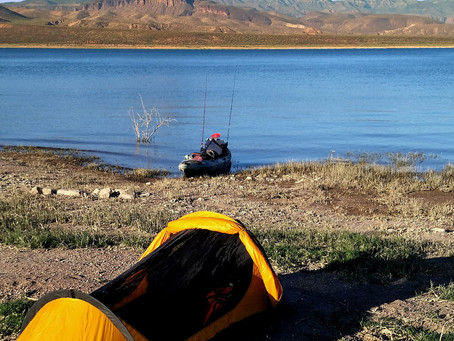 Tips for a Great Kayak Camping & Fishing Adventure