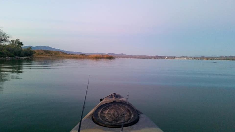 havasu national wildlife refuge mesquite bay nonmotorized area  kayak access free launch lake havasu arizona  christina boggs arizona kayak fishing guide kayaking