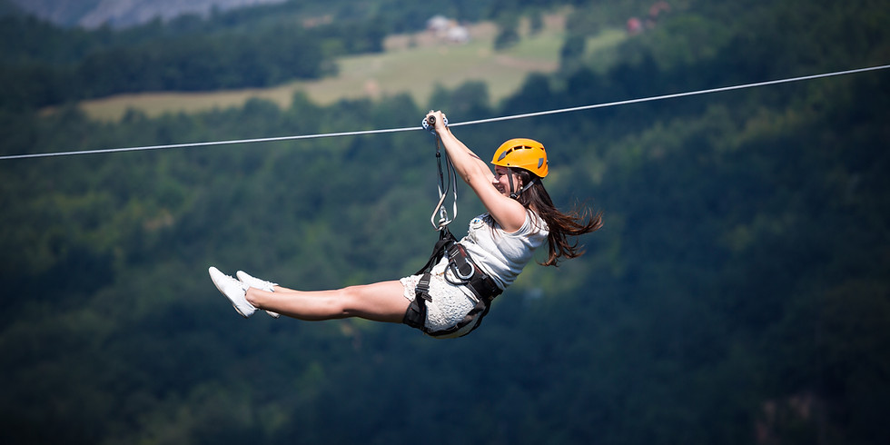SOLD OUT!  Zip Line and Wine - Hocking Hills, OH