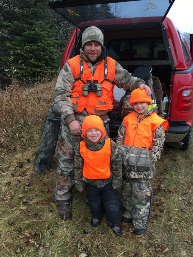 Father Son Squirrel Hunt