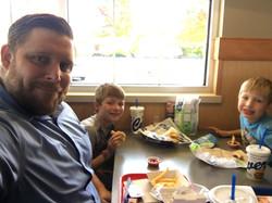 Dad, Carter, Clayton Day