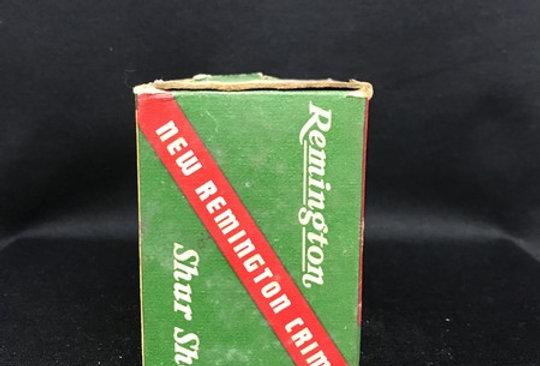 "Old Remington Shur Shot Vintage Shot Shell Box 16 Ga 2 3/4"" 4 Taxidermy Decor"