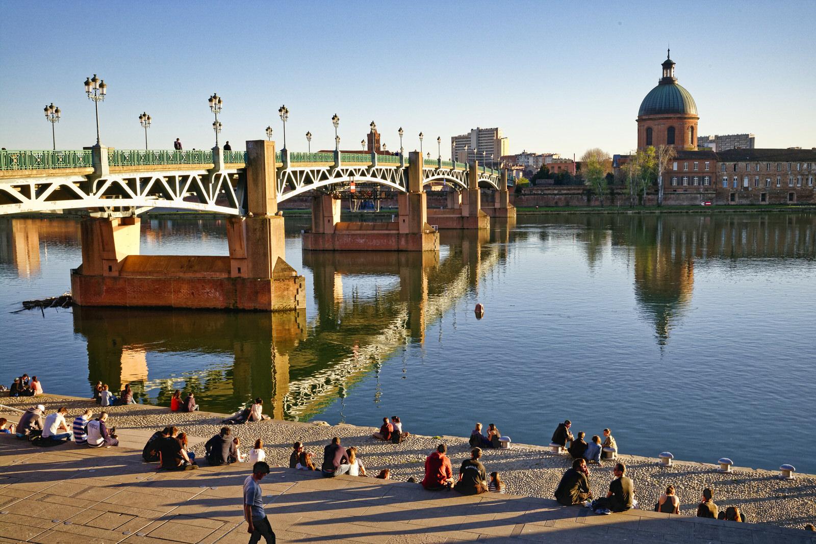 Toulouse es una gran ciudad de Franc