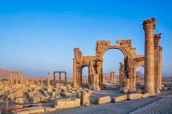 Palmira:Situada en el gran desierto