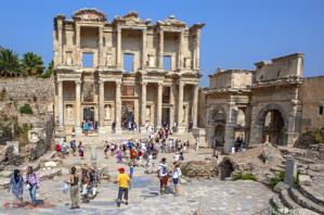 La antigua ciudad de Éfeso centro de