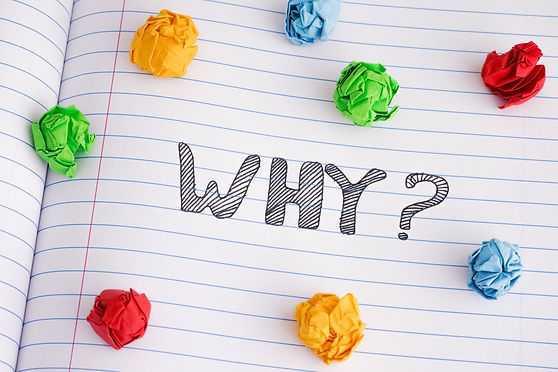 Why_ Why question on notebook sheet with