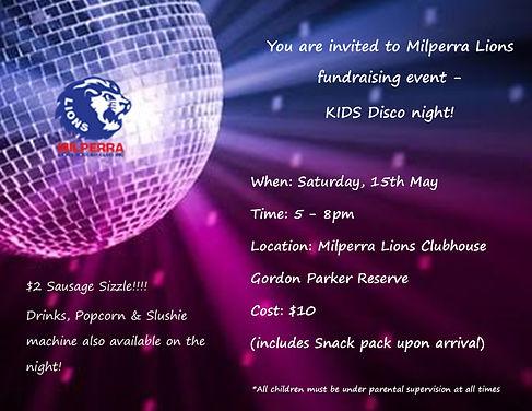 Milperra Lions Soccer Club Disco Night.j