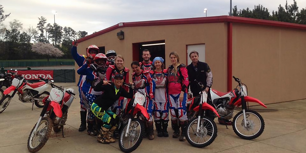 MSF Dirt Bike School Ages 12 and older mixed group: