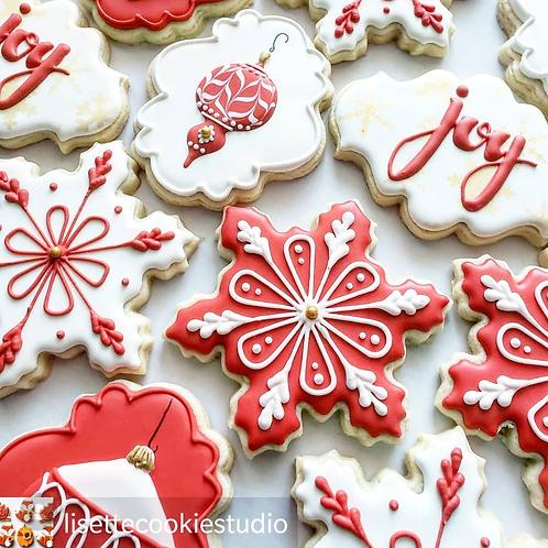 3 dozen Christmas Cookies Kaci