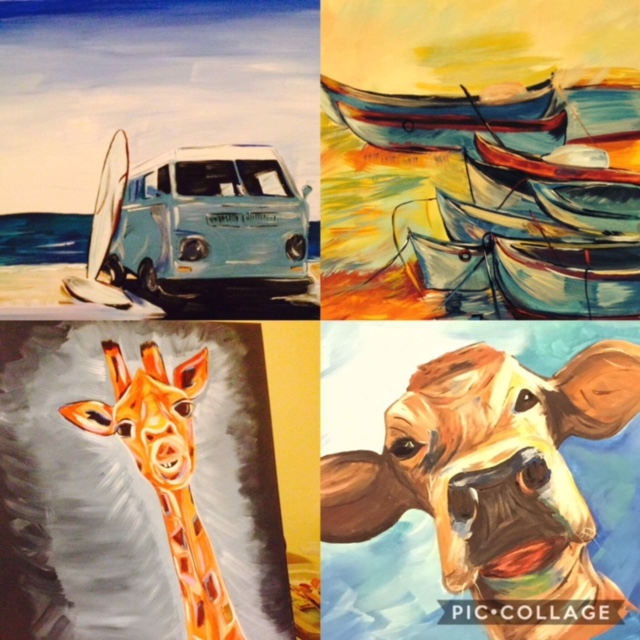 Erin Butler Paintings