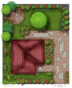 Projekt koncepcyjny ogrodu