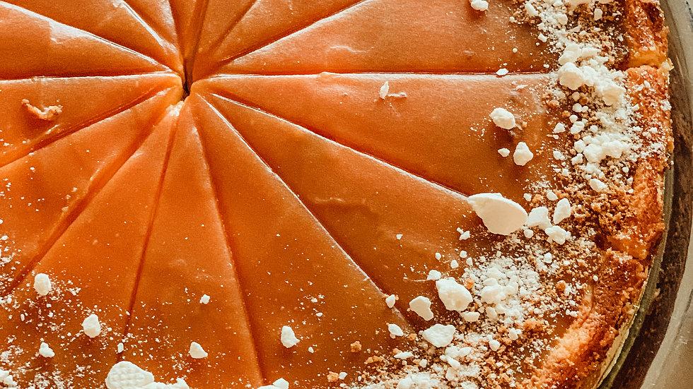 Cheesecake bílá čokoláda a slaný karamel