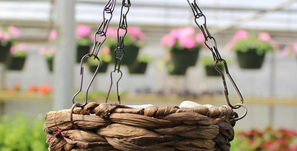 Mini Woven Hanging Basket