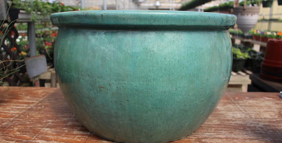 Beautiful Turquoise Ceramic Pot