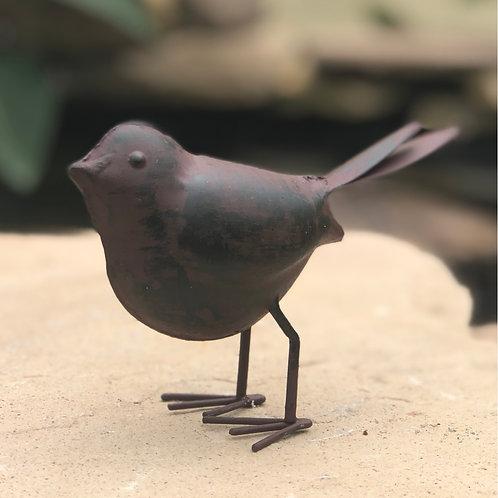Rustic metal bird