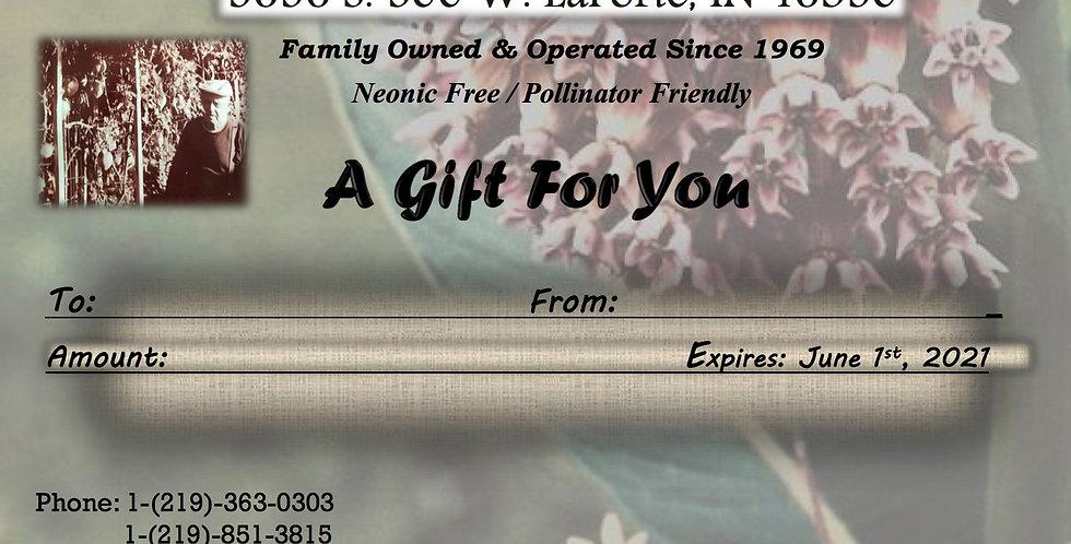 Gift Card (Native Theme 1)