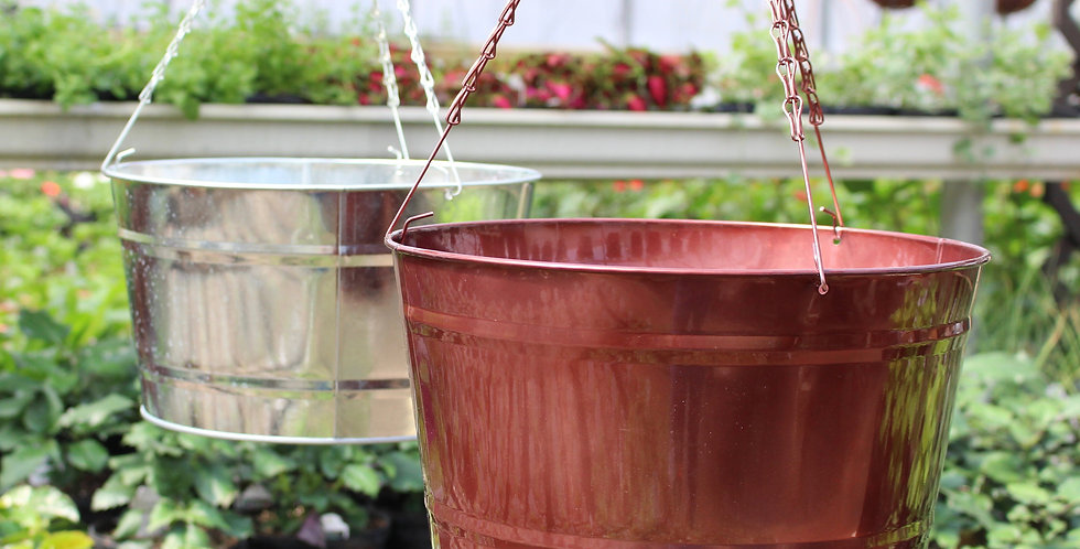 Metal Hanging Pot
