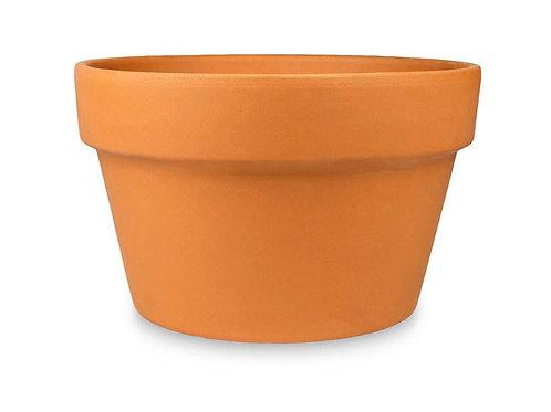 """4"""" clay azalea pot"""