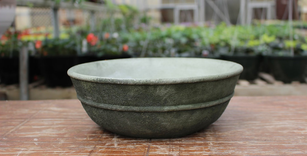 Weathered Green Pottery