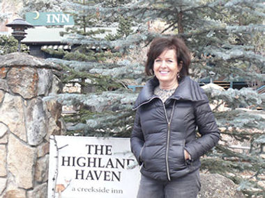Gail Riley, Highland Haven Creekside Inn