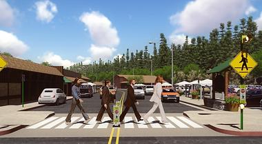 Crosswalk on Main Street